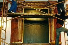Montaje de retablo