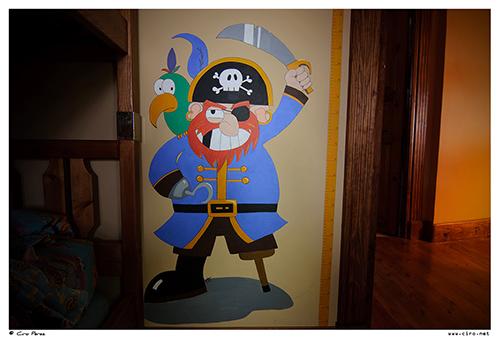 Pintura mural pirata
