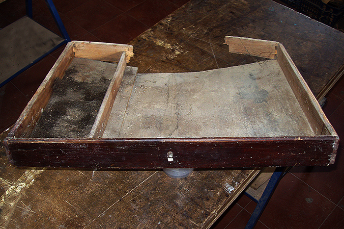 Carpintería en cajón