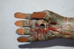 Talla de dedos - antes