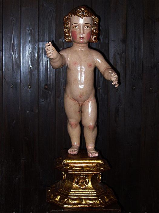 Restauración talla Jesús después/1