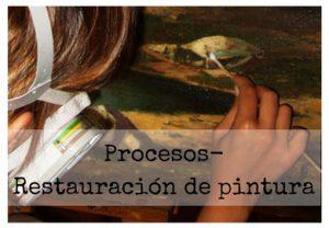 Procesos/Restauración de pintura