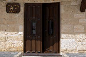 Puerta del taller/detalle