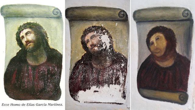 Ecce Homo errores restauración