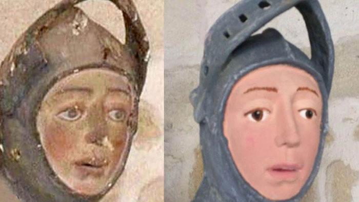 San Jorge errores restauración