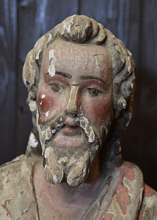 Escultura Bautista/cara inicial
