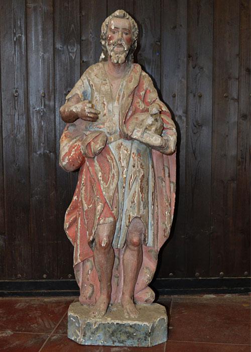 Escultura Bautista/general inicial