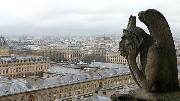 Gárgola de Notre Dame
